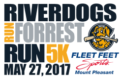 RiverDogs Run Forrest Run 5K Presented by Fleet Feet Sports