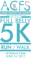Full Belly 5K, 1 Mile Run/Walk, & Family Fun at Veterans Park Including Vendors & Food Trucks from 8am-12pm