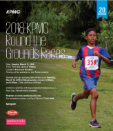 KPMG Round the Grounds Junior Running Race