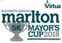 11th Annual Marlton Mayor's Cup 5K & 1 Mile Fun Run/Walk