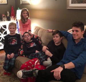 Dylan's Cousins - Michael, Matthew, AJ & Kiley