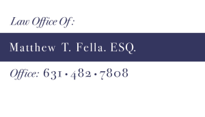 Law Office of Matthew T. Fella Esq.