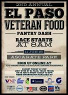 El Paso Veteran Food Pantry Dash 5K Run & Walk