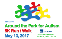 Around the Park for Autism 5K