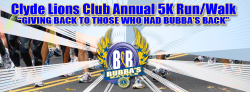 Clyde Lions Club 5K Run/Walk Partnering with Bubba's Battle