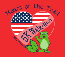 Heart of the Trail 5k