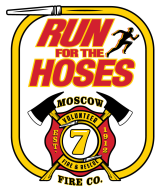 Moscow Fire Run for the Hoses