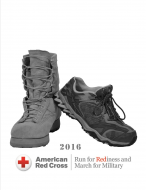 """AMERICAN RED CROSS RUN FOR """"RED""""INESS and March for Military"""