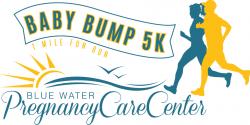 Blue Water Baby Bump 5k