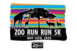 The VIRTUAL Zoo 'Run Run' 5K & Kids 'Ele-FUN-Run'