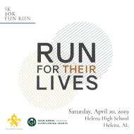 RUN FOR THEIR LIVES 10K, 5K AND FUN RUN