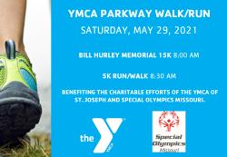 YMCA Parkway Walk/Run (15K or 5K)