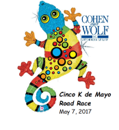 Cohen and Wolf Cinco K De Mayo - 5K Road Race & 2 Mile Walk