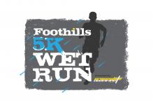 Foothills 5k Wet Run