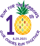 10th Annual Run For The Ribbons 5K/1 mile