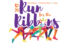 Run For The Ribbons 5K/1 mile