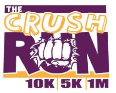 The Crush Run 5K 10K and 1 Mile Walk