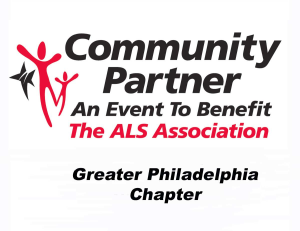 The ALS Association, Greather Philadelphia Chapter