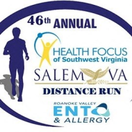 Health Focus of Southwest Virginia Salem Distance Run