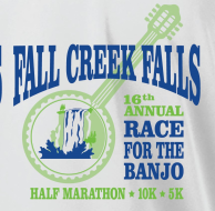 Fall Creek Falls Half Marathon, 10K  & 5K Road Runs
