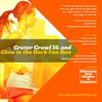 Crater Crawl 5k and Glow-In-the-Dark Fun Run