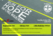 VRM's 4th Annual Run for Hope