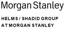Morgan Stanley: Helms/Shadid Group