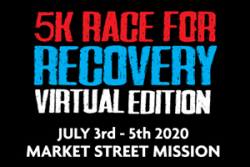 Market Street Mission Virtual 5K Race for Recovery