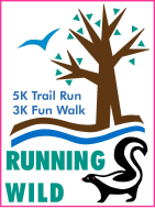 Running Wild In-Person OR Virtual 5K Run & 3K In-Person OR Self-Led Scavenger Hunt