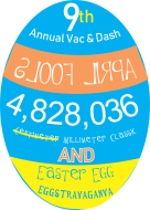 Vac and Dash April Fool's Day 5K & Easter Egg Hunt