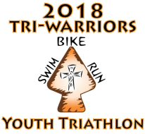 2018 Tri-Warriors Youth Triathlon        *Online registration is now closed, however participants may still register for this race onsite Friday and Saturday.  See website for more information.