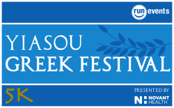 Yiasou Greek Festival 5K presented by Novant Health-VIRTUAL ONLY