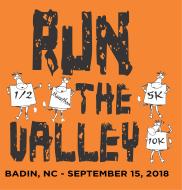 Run the Valley 5K - 10K - 1/2 Marathon