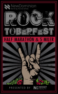 NewDominion Bank Rocktoberfest Half Marathon & 5 Miler presented by Novant Health