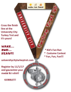 University City Turkey Trot 5K