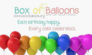 Box of Balloons Roswell