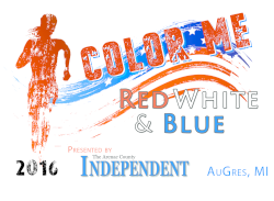 Color Me Red, White and Blue Color Run