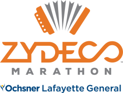 Lafayette General Zydeco Marathon!  26.2 Full  |  13.1 Half  |  Team Relay  |  5k  |  1 Mile