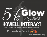 Howell Interact GLOW Run