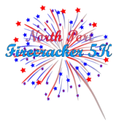 North Port Firecracker July 4th 5k Logo