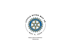 Little River Rotary May 5K