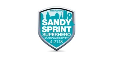 Sandy Sprint Superhero 5k 10k Run Walk Canine Sprint