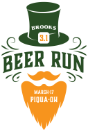 St. Paddy's Day Brooks 3.1 Beer Run