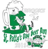 St. Patty's Day Brooks 3.1 Beer Run