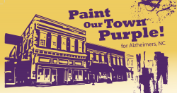 Apex Chamber of Commerce - Paint Our Town Purple 5K