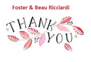 Foster & Beau Ricciardi