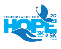 Virtual Remembrance 5KRun/3KWalk for HOPE