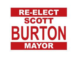 Re-Elect Scott Burton For Mayor