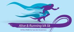 Alive and Running VA 5K Fun Run/Walk - VIRTUAL RACE