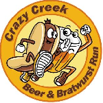 Crazy Creek Beer & Brat Lite Run/Walk